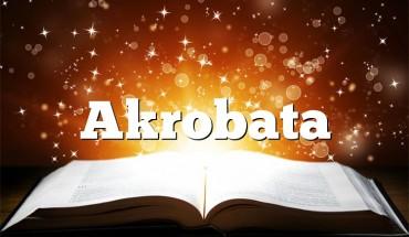 Akrobata