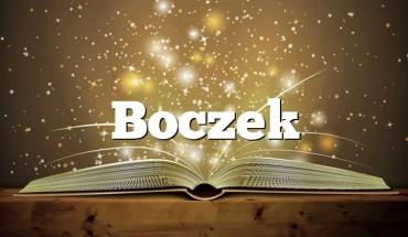 Boczek