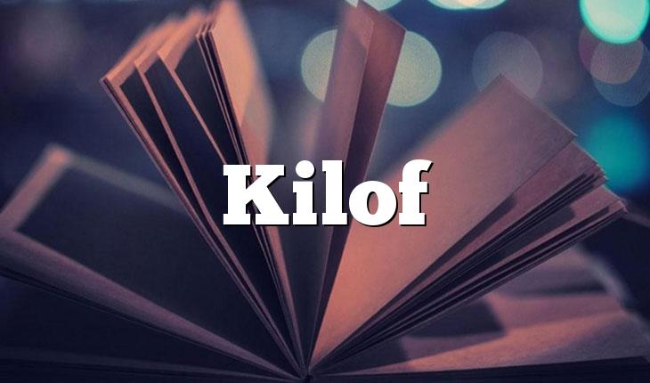 Kilof