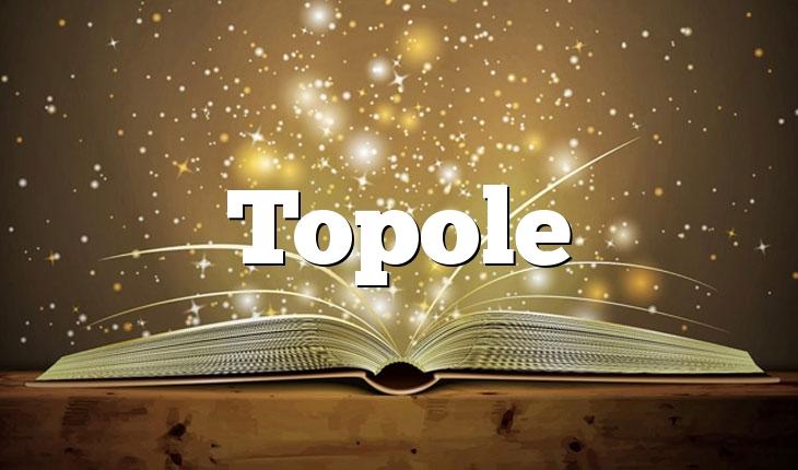 Topole